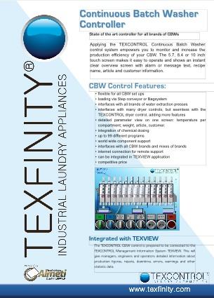CBW Control Brochure