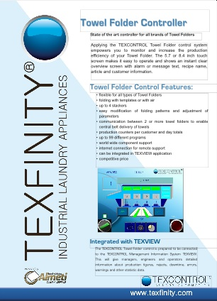 Towel Folder Control Brochure