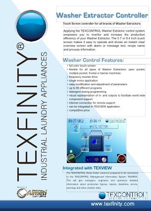 Washer Extractor Control Brochure