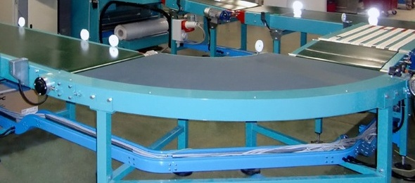 T.trans - Curved Belt Conveyor